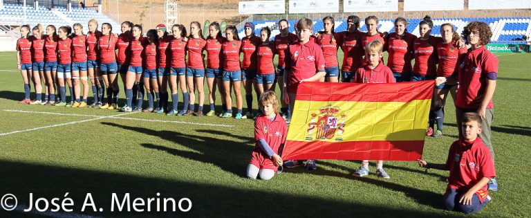 España vs Francia Rugby femenino