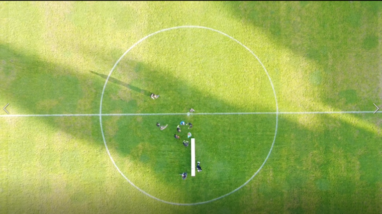 El Estadio Pedro Escartín desde el aire